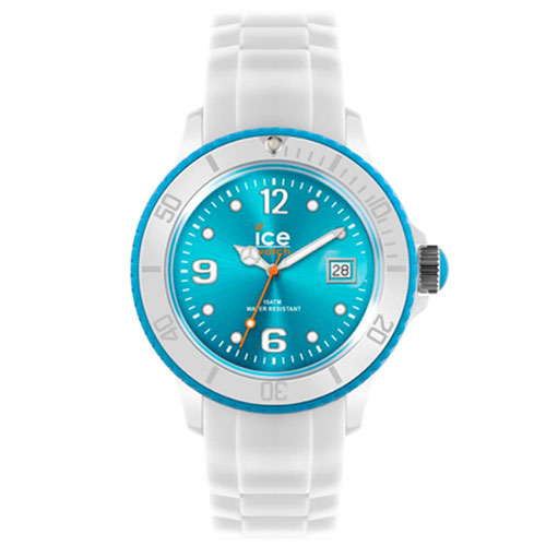 SI.WT.S.S.11  ICE-WHITE-2012_WHITE-TURQUOISE-SMALL  ( 38mm/쿼츠 )  전국 백화점 A/S접수